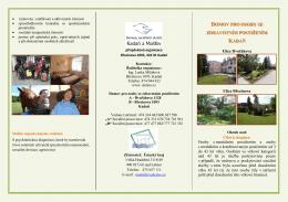 domov pro osoby se zdravotním postižením kadaň - Kontakt