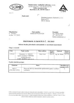 Statni listav radiacni ochrany, v.v.i. L1479