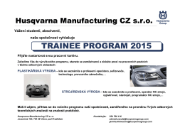 Trainee program 1