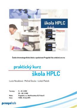 škola HPLC