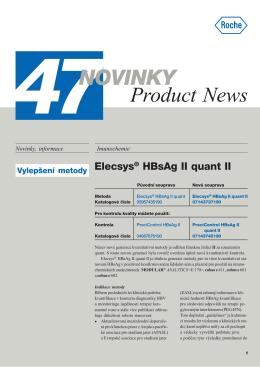Novinky - Product News 47