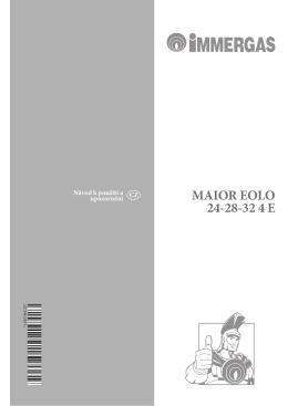 MAIOR EOLO 24-28-32 4 E