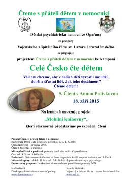 plakát - Dětská psychiatrická nemocnice Opařany