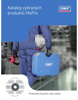 Katalog vybraných produktů MaPro