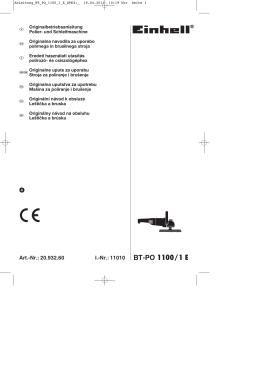 BT-PO 1100/1 E