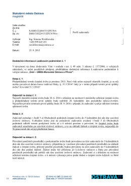 Statutární město Ostrava magistrát