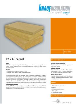 Technický list - Knauf Insulation