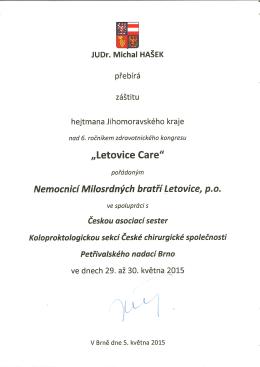 ZDE. - LETOVICE CARE 29.
