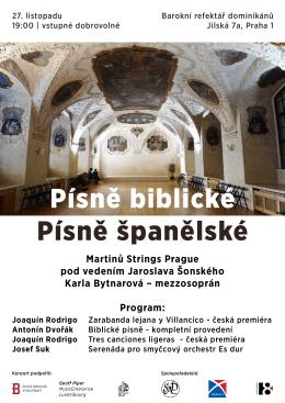 Martinů Strings Prague pod vedením Jaroslava Šonského Karla