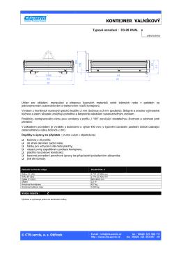 Prospekt kontejnery_D3-28 KVAL_CZ_2009