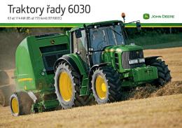 Traktory řady 6030