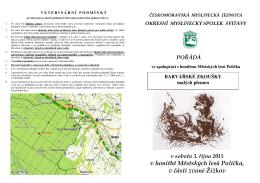 v honitbě Městských lesů Polička, v části zvané Žižkov