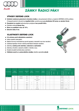 Katalog - Defend Automotive Group
