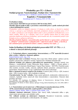 sylaby - Fyzikální ústav AV ČR