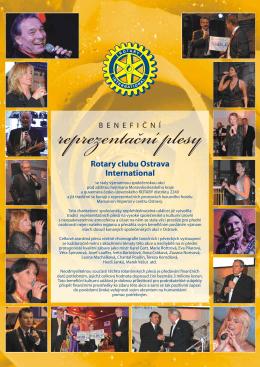 Rotary clubu Ostrava International