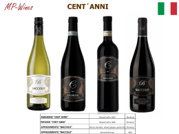 Cent´Anni - MP WINES