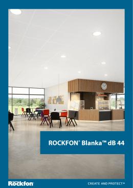 ROCKFON® Blanka™ dB 44