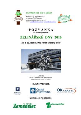 Pozvánka ZD 2016 - ZUČM – Zelinářská unie Čech a Moravy