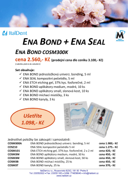 ENA BOND +ENA SEAL