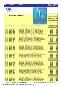PDF vytvořeno zkušební verzí pdfFactory www.fineprint.cz