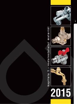 kapitola 1 - vodoinstalační materiál