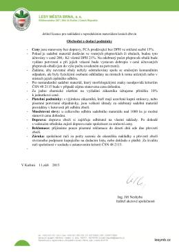 držitel licence pro nakládání s reprodukčním materiálem lesních dřevin