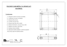 7. Plechová krabička na spojovací materiál