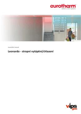 Leonardo - stropní vytápění/chlazení