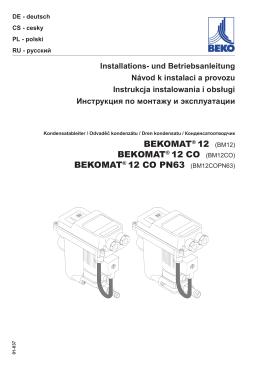 bekomat® 12 co pn63 - BEKO Technologies GmbH