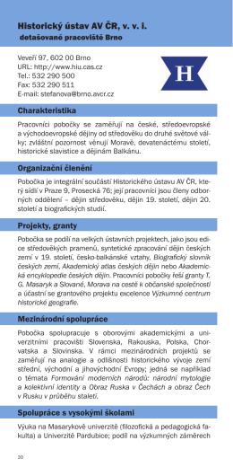 Historický ústav AV ČR, v. v. i.