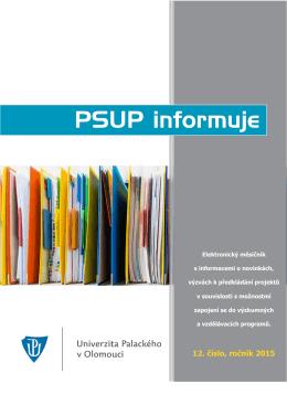 PSUP informuje - 12/2015