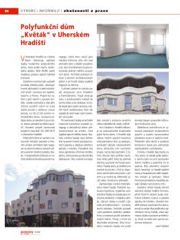 """Polyfunkční dům """"Květák"""" v Uherském Hradišti"""