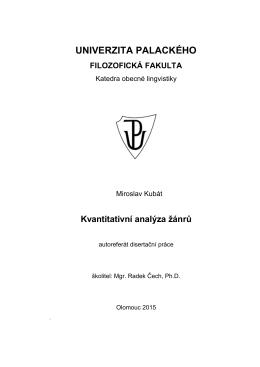 zde - Katedra obecné lingvistiky - Univerzita Palackého v Olomouci