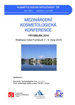 mezinárodní kosmetologická konference