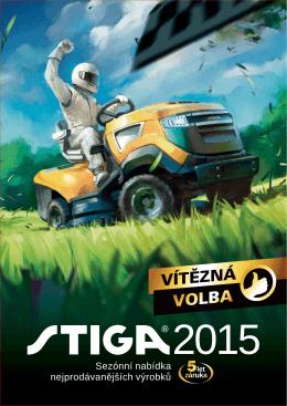 Katalog STIGA 2015