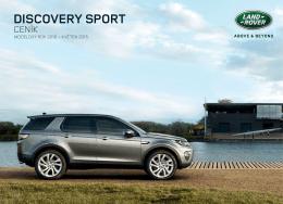 Ceník Land Rover Discovery Sport MY2016