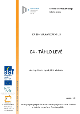 ka10-04 tahlo leve - KKS - Západočeská univerzita v Plzni