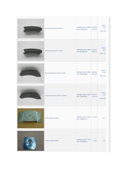 Koncovka panelu AW 77 (levá) Katalogové číslo: 53088 KTM