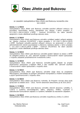 16.03.2015 - Jiřetín pod Bukovou