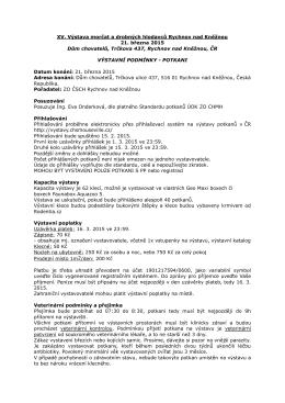 XV. Výstava morčat a drobných hlodavců Rychnov nad Kněžnou 21