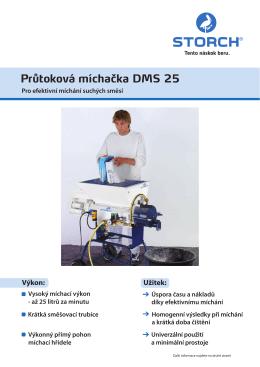 Prospekt produktu 643500 DMS 25