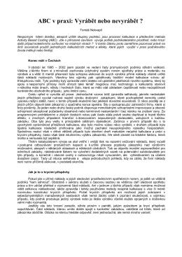 Finanční management 1/2005