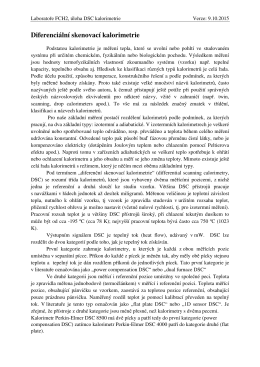 Návod k úloze v PDF - Ústav fyzikální chemie
