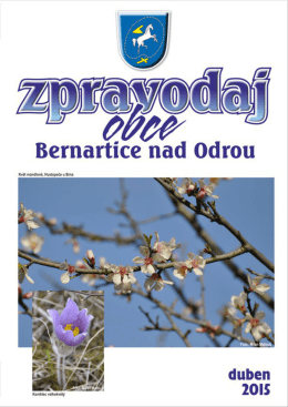 PDF, 1,86 MB - Bernartice nad Odrou