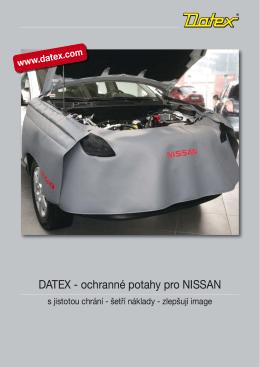 DATEX - ochranné potahy pro NISSAN
