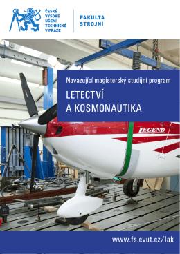 Letectví a kosmonautika_2015 - České vysoké učení technické v