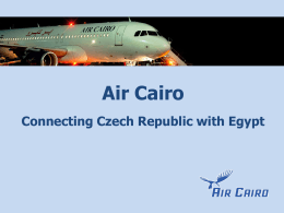 Air Cairo - EgyptAir
