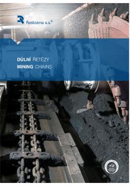 katalog Důlní řetězy vyřazeno na A4