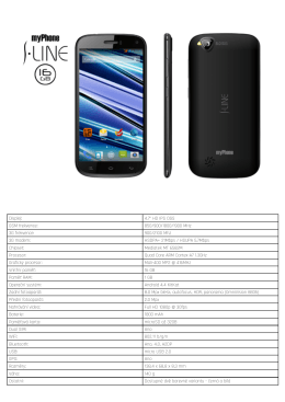 myPhone S-Line 16GB