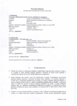 Smlouva Letovice